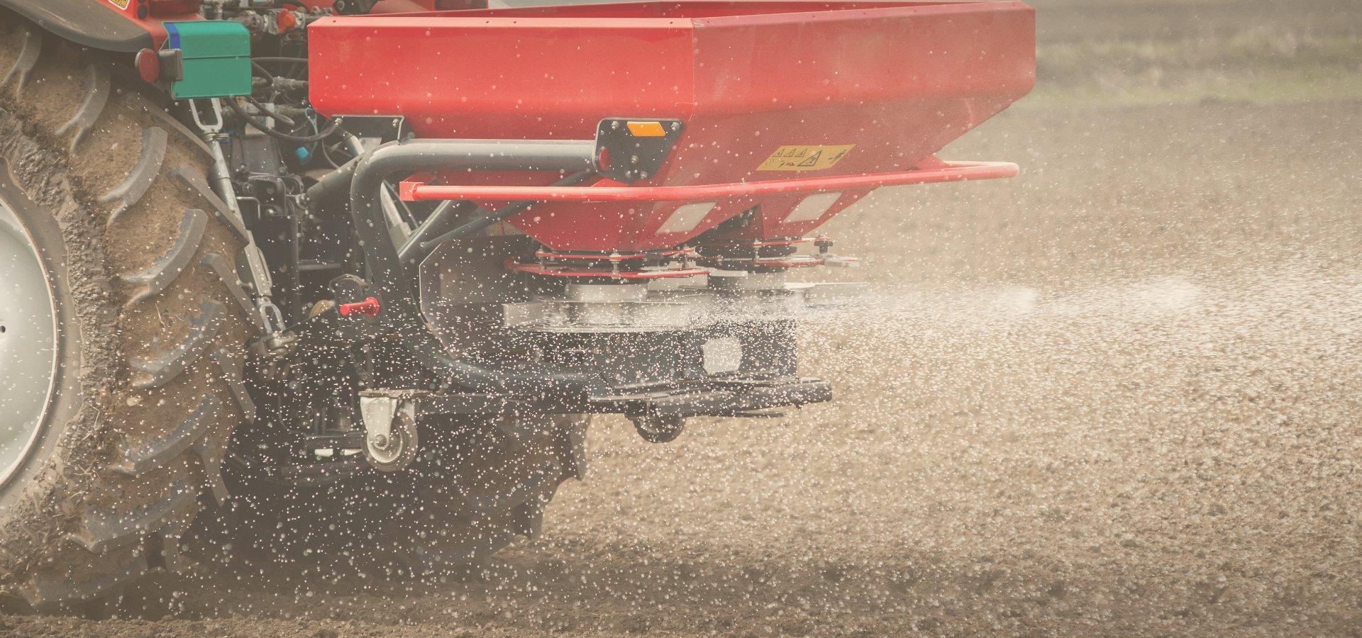 Farm Equipment - Fertilizer Spreaders